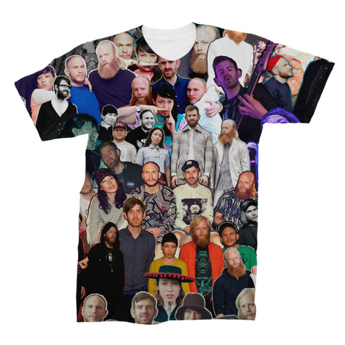 Little Dragon Photo Collage T-Shirt