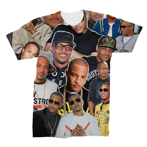 T.I. Photo Collage T-Shirt