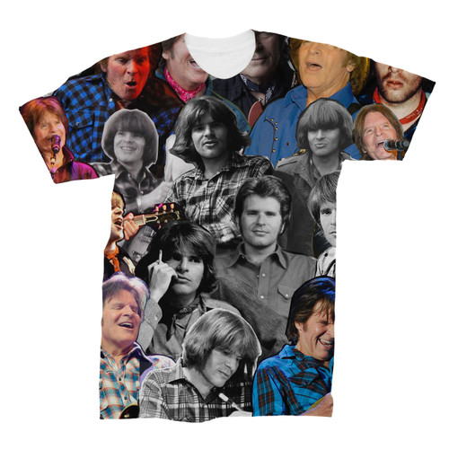 John Fogerty Photo Collage T-Shirt
