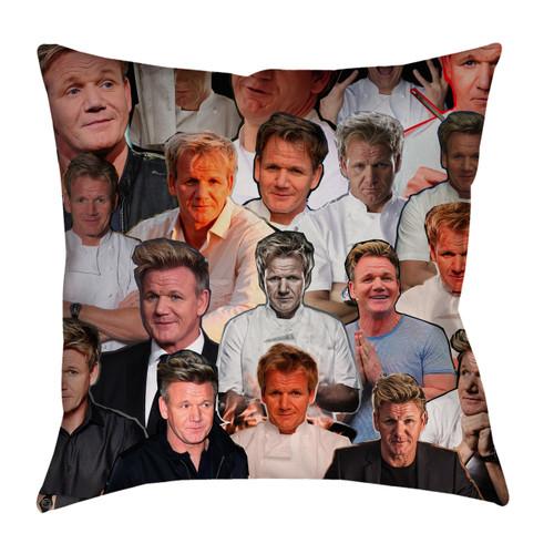 Gordon Ramsay Photo Collage Pillowcase