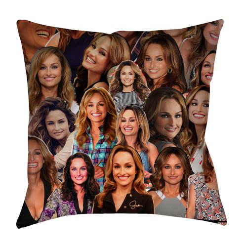 Giada De Laurentiis Photo Collage Pillowcase