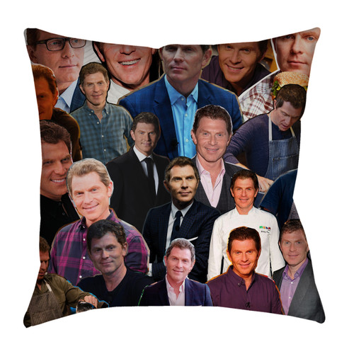 Bobby Flay Photo Collage Pillowcase