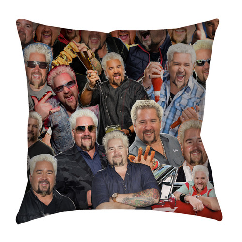 Guy Fieri Photo Collage Pillowcase