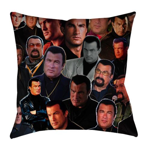 Steven Seagal Photo Collage Pillowcase