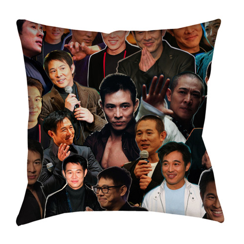 Jet Li Photo Collage Pillowcase