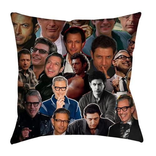 Jeff Goldblum Photo Collage Pillowcase