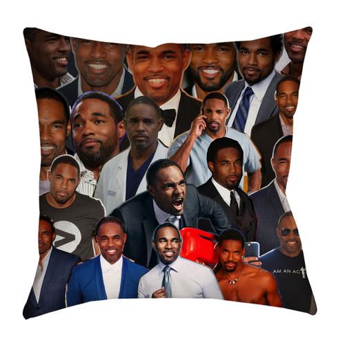 Jason Winston George Photo Collage Pillowcase