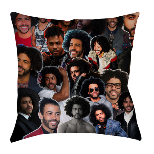 Daveed Diggs Photo Collage Pillowcase