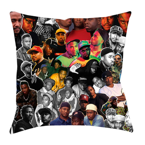 A Tribe Called Quest Photo Collage Pillowcase