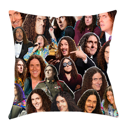 """Weird Al"" Yankovic Photo Collage Pillowcase"