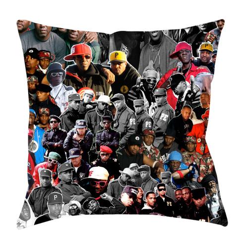 Public Enemy Photo Collage Pillowcase