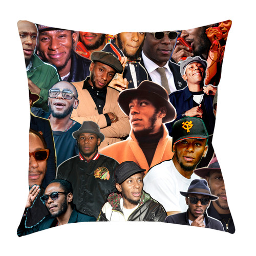 Mos Def Photo Collage Pillowcase