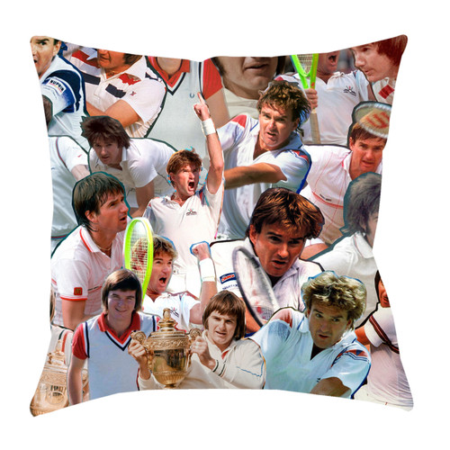 Jimmy Connors Photo Collage Pillowcase