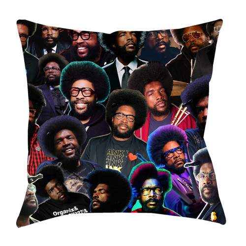 Questlove Photo Collage Pillowcase