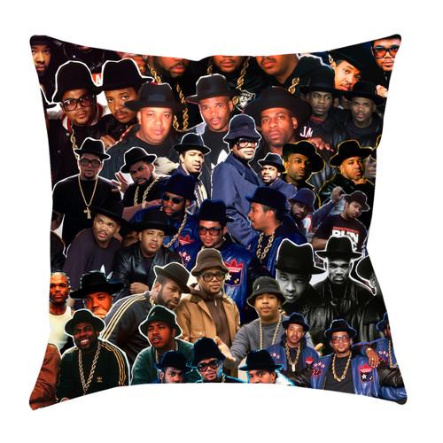 Run DMC Photo Collage Pillowcase