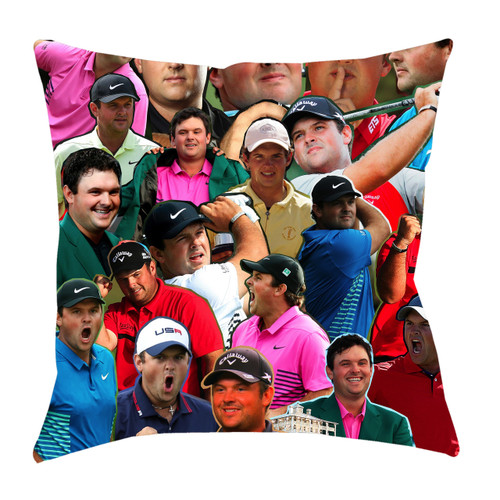 Patrick Reed Photo Collage Pillowcase