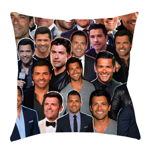 Mark Consuelos Photo Collage Pillowcase