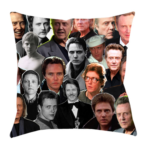 Christopher Walken Photo Collage Pillowcase