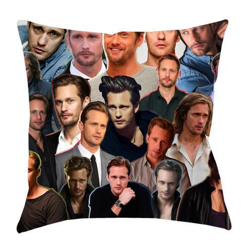 Alexander Skarsgard Photo Collage Pillowcase