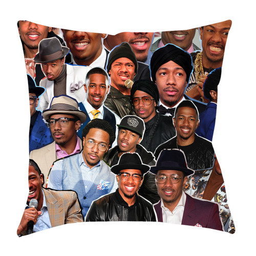 Nick Cannon Photo Collage Pillowcase
