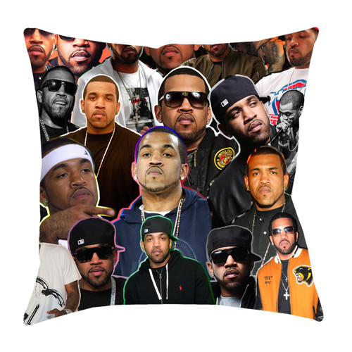 Lloyd Banks Photo Collage Pillowcase
