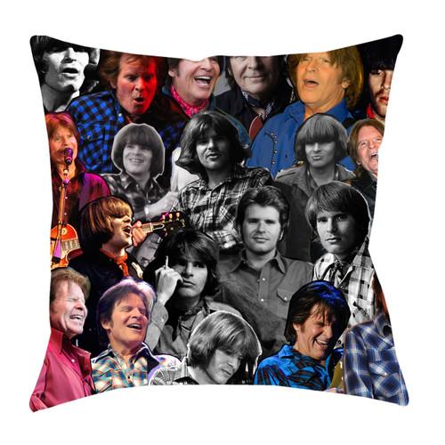 John Fogerty Photo Collage Pillowcase
