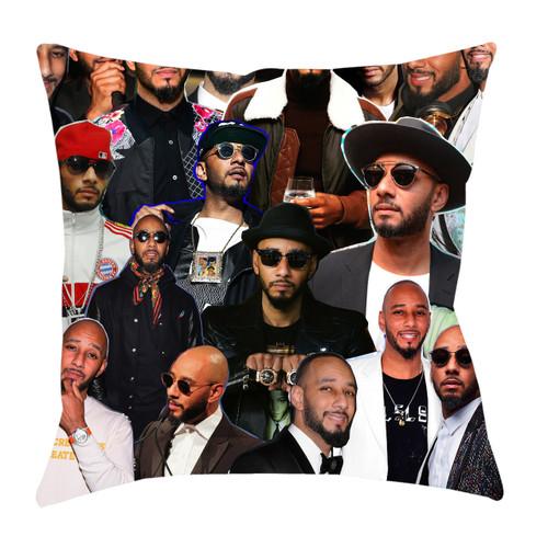 Swizz Beatz Photo Collage Pillowcase
