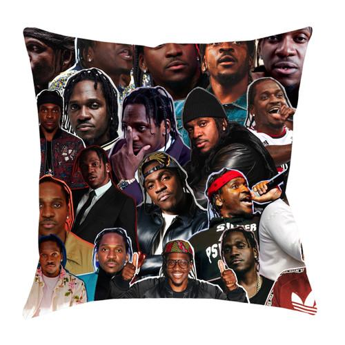 Pusha T Photo Collage Pillowcase