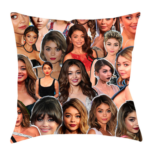 Sarah Hyland Photo Collage Pillowcase
