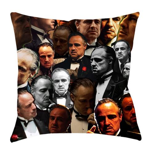 Vito Corleone (Godfather) Photo Collage Pillowcase