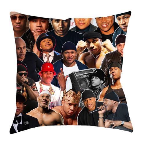 LL Cool J Photo Collage Pillowcase