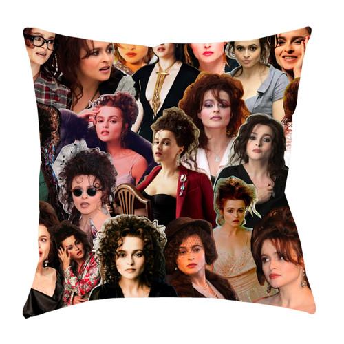 Helena Bonham Carter Photo Collage Pillowcase