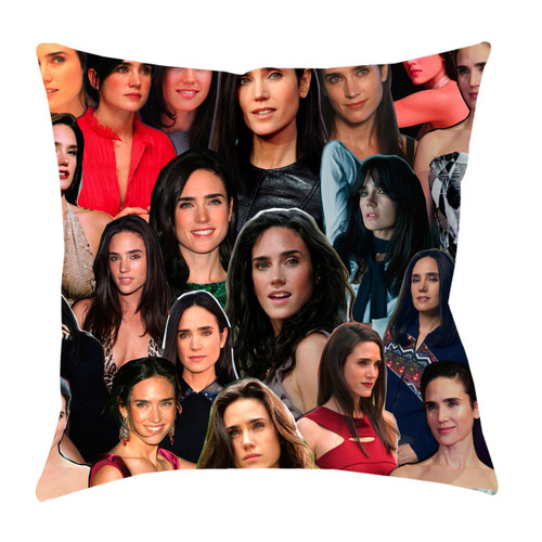 Jennifer Connelly Photo Collage Pillowcase