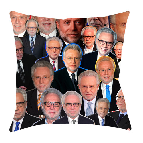 Wolf Blitzer Photo Collage Pillowcase