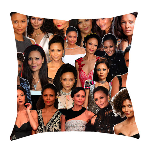 Thandie Newton Photo Collage Pillowcase