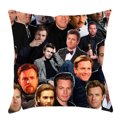 Ewan McGregor Photo Collage Pillowcase