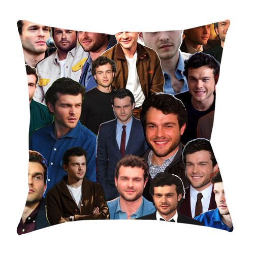 Alden Ehrenreich Photo Collage Pillowcase