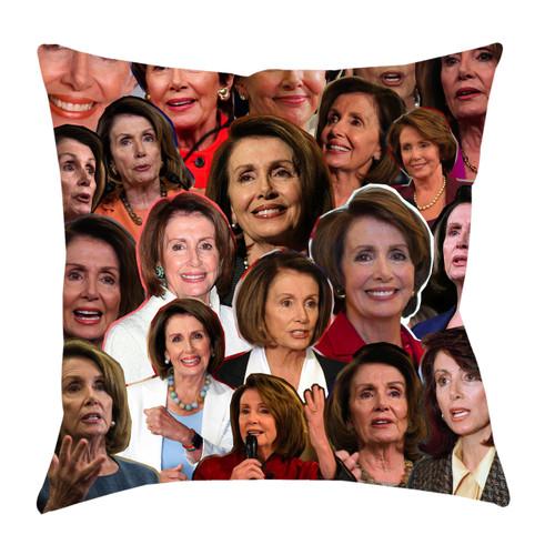 Nancy Pelosi Photo Collage Pillowcase