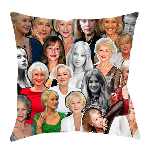 Helen Mirren Photo Collage Pillowcase