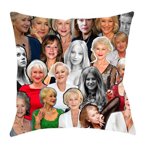 Helen Mirren Photo Collage Pillowcase