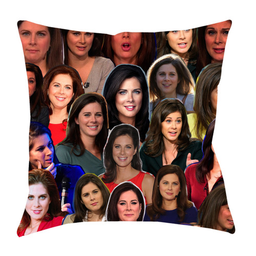 Erin Burnett Photo Collage Pillowcase