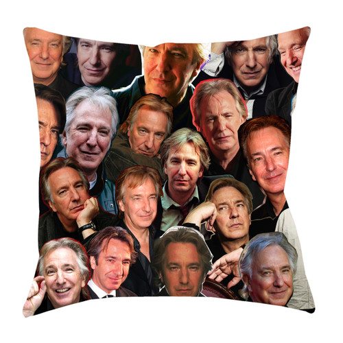 Alan Rickman Photo Collage Pillowcase