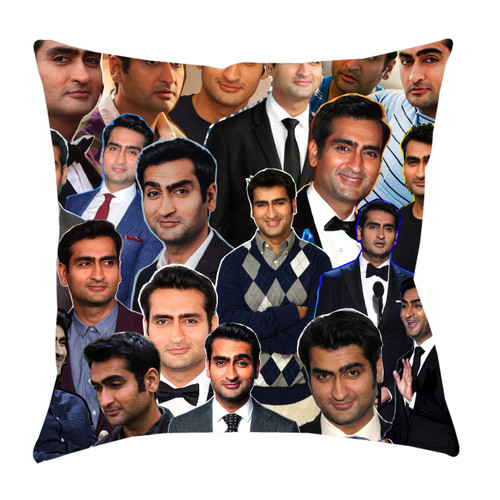 Kumail Nanjiani Photo Collage Pillowcase