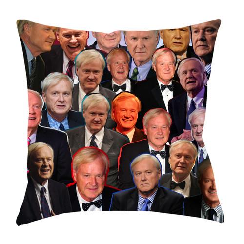 Chris Matthews Photo Collage Pillowcase
