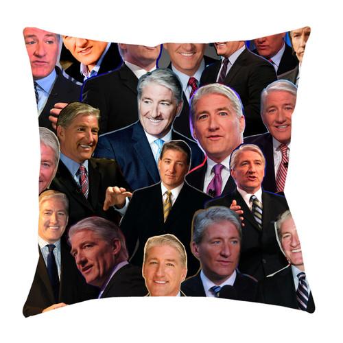 John King Photo Collage Pillowcase
