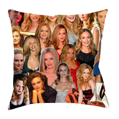 Heather Graham Photo Collage Pillowcase