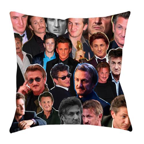 Sean Penn Photo Collage Pillowcase