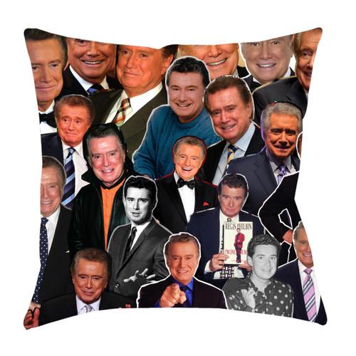 Regis Philbin Photo Collage Pillowcase