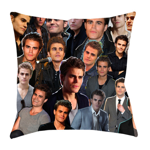 Paul Wesley Photo Collage Pillowcase