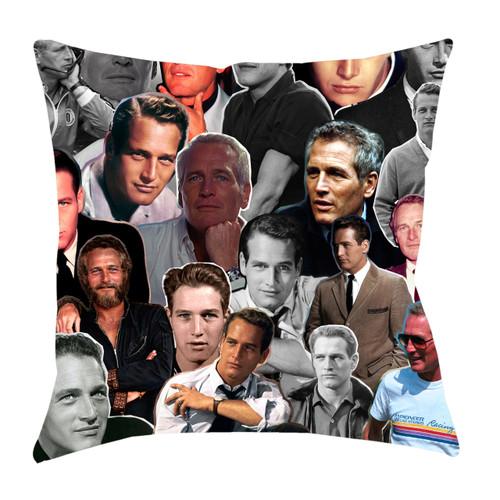 Paul Newman Photo Collage Pillowcase